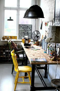 Work area (Amber Interior Design)
