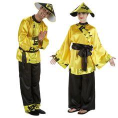 Costumes pour couples Chinois Jaunes #déguisementscouples