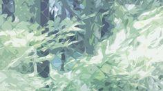 free desktop wallpaper PC illustration  green デスクトップ 壁紙 おしゃれ イラスト 背景 グリーン 緑