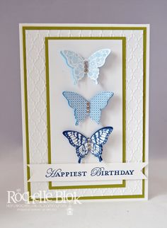 The Stamping Blok: Product Spotlight : Stampin' Up! Papillon Potpourri and Elegant Butterfly Punch
