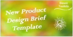 Whether you are a start-up or an established food business, a comprehensive 'New Product Design Brief' is critical to success. Utilise this template to fully scope out all aspects of your new product. #NewProductDesign Design Brief Template, Food And Beverage Industry, New Product, Product Design, Infographic, Success, Templates, Business, Free