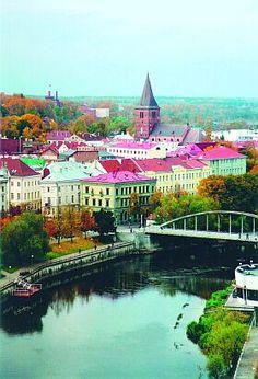Tartu - Estonia, love the roof colours #colourfulestonia #visitestonia