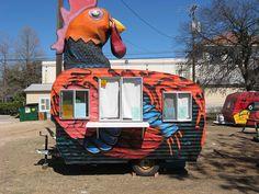 chicken waffle food trailer austin