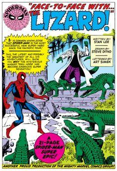 Opening splash page to Amazing Spider-Man #6