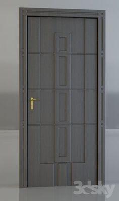 Wooden Front Door Design, Wood Front Doors, Wooden Doors, Door Design Images, Basement Bar Designs, Indoor Doors, Home Design Floor Plans, Door Design Interior, Contemporary Doors