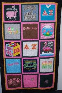 I have so many DZ Shirts! I need to do this!