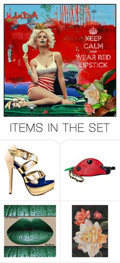 """""""OPEN YOUR MIND"""" by greeneyz ❤ liked on Polyvore featuring art"""