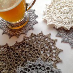 Coaster Doily Table Linen Home Decoration  Crochet Applique