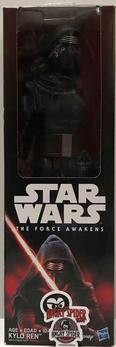 This just in at The Angry Spider Vintage Toy Store: TAS037535 - 2015 ...  Check it out here! http://theangryspider.com/products/tas037535-2015-hasbro-star-wars-the-force-awakens-kylo-ren?utm_campaign=social_autopilot&utm_source=pin&utm_medium=pin
