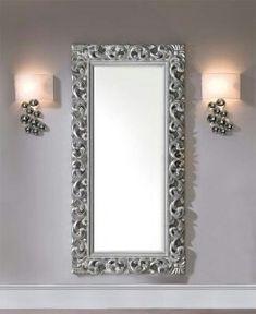 Barockspiege Espejo De Pared En Repro Antiguo Barroco Estilo Moderno Oro Blanco Muebles Antiguos Y Decoración Espejos