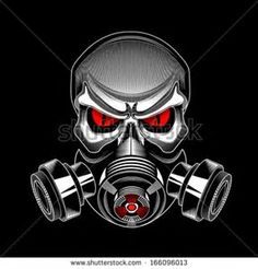 Image result for Five Finger Skull Gas Mask