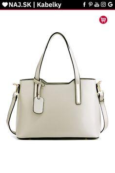 Sivá trendy kabelka na rameno Nancie AG00528 Trendy, Real Madrid, Shoulder Bag, Bags, Fashion, Handbags, Moda, Fashion Styles, Shoulder Bags