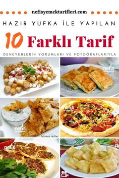 While it is not fair that the most delicious flavors go through pastries, the flavor they give . Yummy Recipes, Lunch Recipes, Appetizer Recipes, Best Appetizers, Iftar, Turkish Recipes, Ethnic Recipes, Good Food, Yummy Food