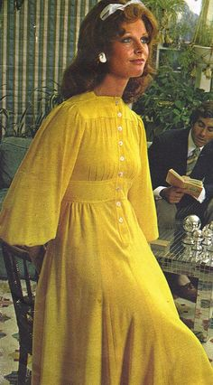 Jean Muir by Classic Style of Fashion (Fourth), via Flickr 1973