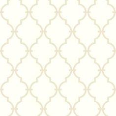 Modern Trellis - Wallpaper