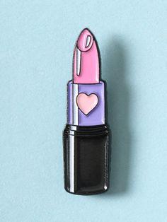 Sweetheart Lipstick Enamel Pin - Gypsy Warrior