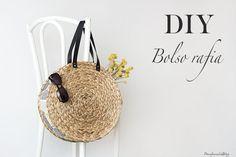 DIY bolso de rafia. Paso a paso para hacer un precioso capazo para el verano a partir de materiales baratos y fáciles de conseguir. Hazte el bolso de moda.