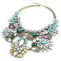 fashion necklace acrylic jewelry $13USD