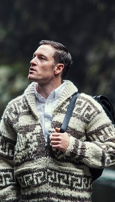 Ted Zimmerman - Middle Brother/incantation specialist (Tahmoh Penikett modeling for The 100 Mile Outfit)