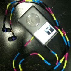 Wrapped my headphones per Pinterest idea!