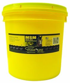 Finish Line Horse Products MSM by Finish Line. $3.55. 1-Pounds MSM 99% pure and is a bio available source of sulfur. MSM or methylsulfonylmethane is thought to have anti-inflammatory properties as well. No fillers, no artificial colors or flavors. 99+% pure.
