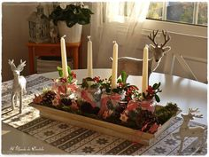 Candle Stand DIY Winter Decorations