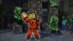 "For my Creeper Bait.  ♫ ""Creeper"" - A Minecraft Parody of Michael Jackson's Thriller (Music Vi..."