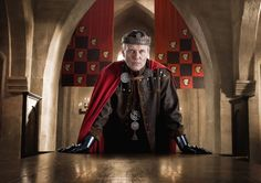 Anthony Head as King Uther Pendragon