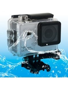 SJ8000 WiFi Novatek 96660 Ultra HD 4K 2.0 inch LCD Sports Camcorder with Waterproof Case, 170 Degrees Wide Angle Lens, 30m Waterproof(White)