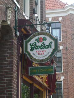 signboard Grolsch Beer