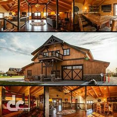 Metal Barn Homes, Pole Barn Homes, Steel Building Homes, Building A House, Barn Apartment, Casas Containers, Barn Living, Barn House Plans, Log Cabin Homes