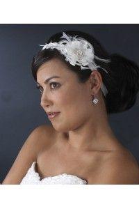 headbands-ruban-satin-bandeau-coiffe-coiffure-chignon-mariée-mariage-accessoires-cheveux-cérémonie - Accessoires du Mariage