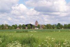 Skyline van Loppersum.  (Gronings: Loppersom)   Loppersum beslaat een oppervlakte van 111,93 km². De huidige gemeente Loppersum ontstond in 1990 door samenvoeging van de gemeenten Stedum, Middelstum., 't Zandt en de oude gemeente Loppersum. Bron: Wikipedia.