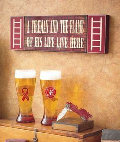 Just a hunk, a hunk of burning love!!!! LOL Firefighter Family, Firefighter Decor, Volunteer Firefighter, American Firefighter, Firefighter Wedding, Firefighter Quotes, Fire Dept, Fire Department, Fireman Crafts