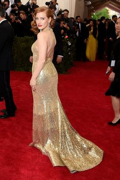 Pin for Later: Seht alle Stars bei der Met Gala Jessica Chastain