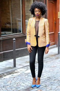 BLACKBEAUTYBAG: GHANAIAN KENTE JACKET BY TISS'AME