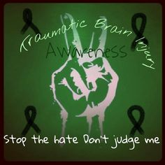 There is a month for tbi awareness? I wasn't aware of it. Till now!!!