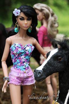 Just Horsing Around with Poppy Parker | Just Horsing Around … | Flickr