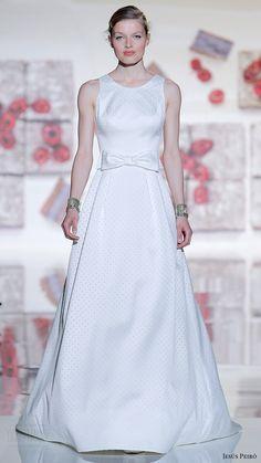 jesus peiro bridal 2017 sleeveless jewel neck aline wedding dress (20) mv