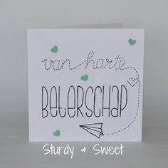 #kaart #beterschap #handlettering www.sturdyandsweet.jouwweb.nl Doodle Lettering, Get Well Soon, Write It Down, Diy Cards, How To Draw Hands, Doodles, Greeting Cards, Bullet Journal, Place Card Holders