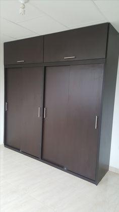 Wall Wardrobe Design, Sliding Door Wardrobe Designs, Bedroom Closet Design, Bedroom Wardrobe, Wardrobe Closet, Closet Designs, Bedroom Cupboard Designs, Bedroom Cupboards, Closet Minimalista