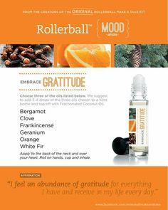Embrace gratitude rollerball blend