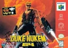 Old school video games: DUKE NUKEM 64. Repin if you remember!