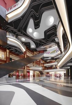 """For a day out at a mall like such - So flippin' awesome. Iluma """"retail development"""" aka mall in Singapore. Singapore Architecture, Architecture Design, Amazing Architecture, Mall Design, Retail Design, Shoping Mall, Shopping Mall Interior, Centre Commercial, Commercial Interiors"""