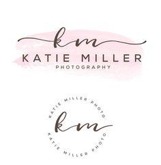 Watercolor Logo Design, Custom Logo Design, Custom logo, Business Logo…