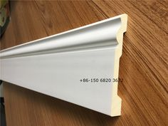PU skirting baseboard moulding