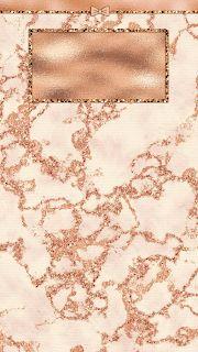 Minnie Rose Gold Home Screens/Lock Screens