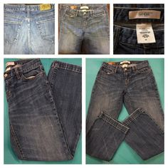 """Gap """"Authentic"""" 1969 Long and Lean Flare Stretch. Premium Vintage-Inspired Denim with just a bit of stretch. Medium wash. Zip fly mid-rise.  Fitted through hip and thigh.  Imported. 99% Cotton. 1% spandex GAP Jeans Flare & Wide Leg"""