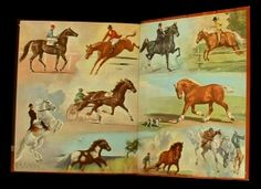 album of horses marguerite henry - - Yahoo Image Search Results Old Children's Books, Antique Books, Horse Artwork, Horse Paintings, Horse Books, Dog Books, Marguerite Henry, Horse Story, Classic Equine
