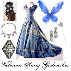 """""""Victorian Fairy Godmother"""" by winterlake25 on Polyvore"""